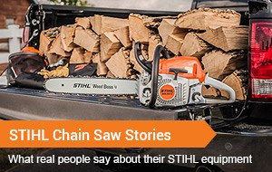 STIHL Chainsaw Stories